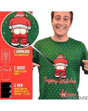 Maglione Babbo Natale sfacciato per adulto
