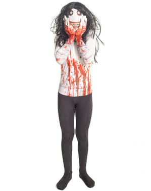 Fato de Jeff the Killer Morphsuit infantil