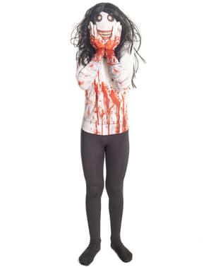 Çocuğun Jeff Katil Morphsuit Kostüm