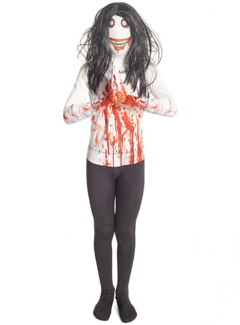 Disfraz de Jeff the Killer Morphsuit infantil - infantil