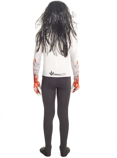Disfraz de Jeff the Killer Morphsuit infantil - Halloween