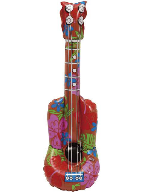 Guitarra havaiana insuflável