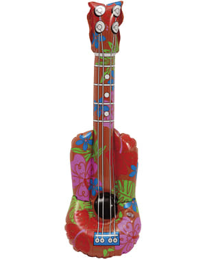 Guitarra hawaiana hinchable