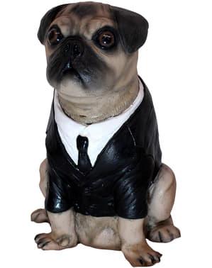 Figura decorativa de Frank El Perro Hombres de Negro