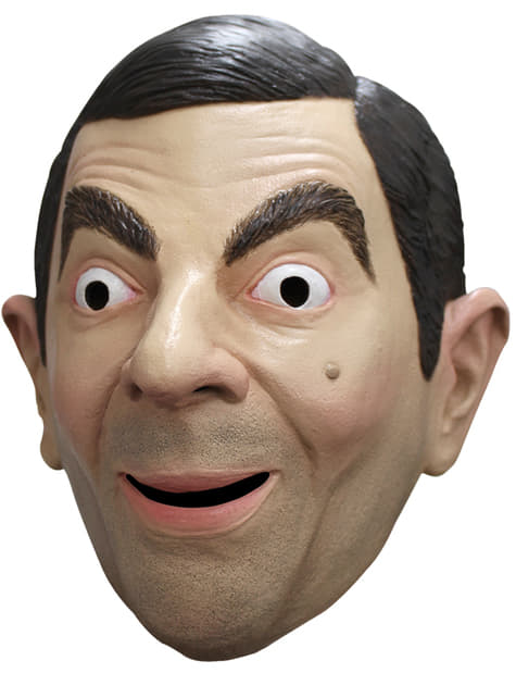 Máscara de Mr. Bean para adulto