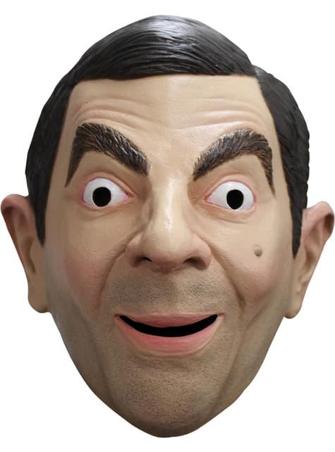Máscara de Mr. Bean para adulto - para tu disfraz