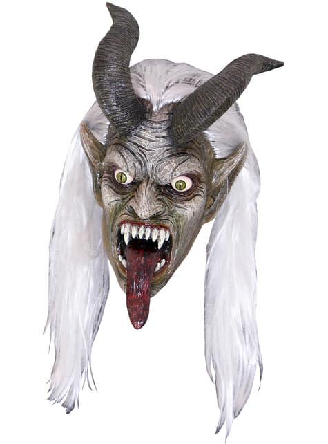 Maschera da Krampus alienato per adulto