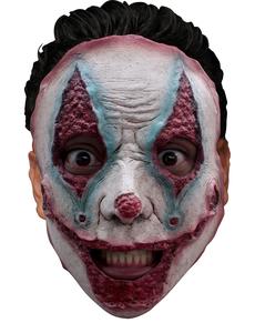 Máscara de payaso asesino en serie para adulto