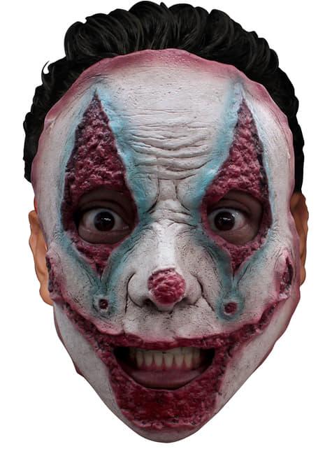 Máscara de palhaço assassino em série para adulto