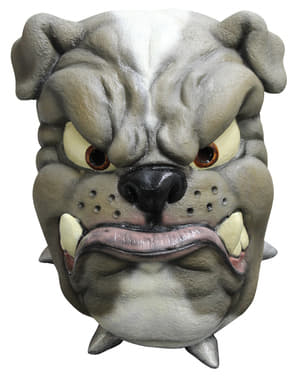 Maska bulldog lateksowa dla dorosłych