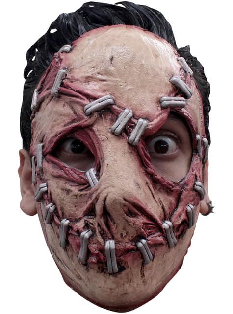 Mask dåligt sytt ansikte för vuxen