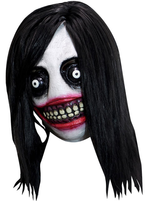 Máscara de Jeff The Killer para adulto