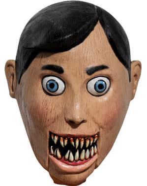 Máscara de marioneta faminta para adulto