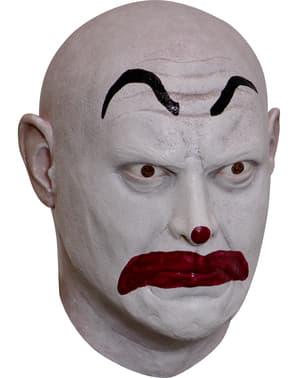 Clown masker Machete van latex voor volwassenen