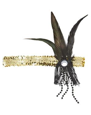 Charleston Haarband gold