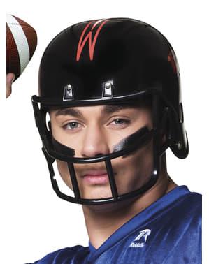 Casco da giocatore di football americano