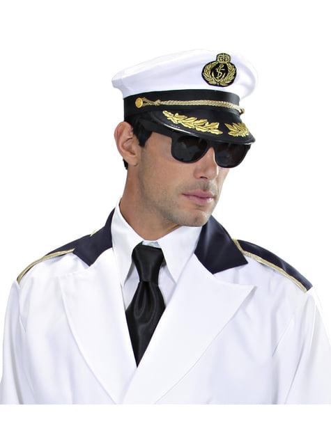 chapéu de marinheiro de alto mar para adulto
