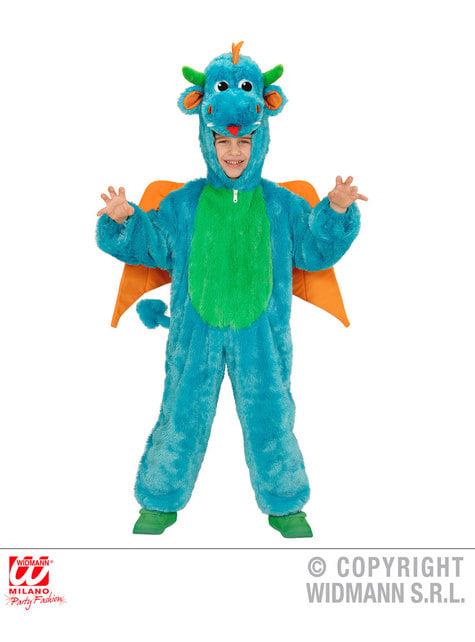 Disfraz de dragón de peluche para niño
