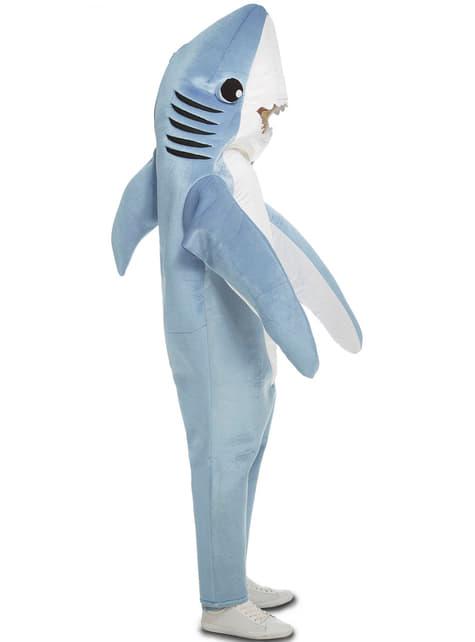 Disfraz de tiburón simpático para adulto - hombre