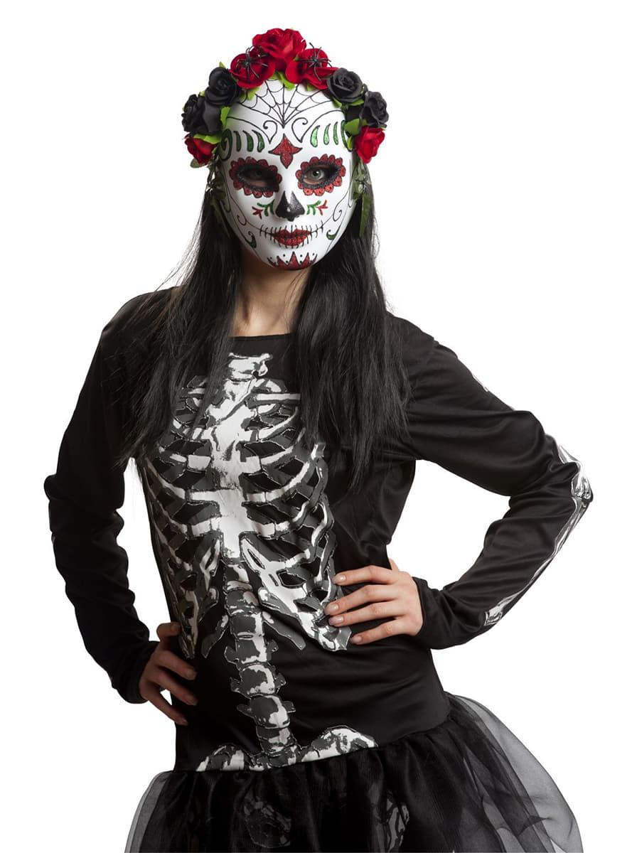 courir chaussures pas de taxe de vente meilleur service Women's Catrina with Flowers Mask