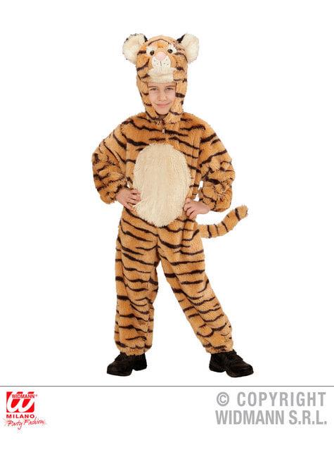 Disfraz de tigre valeroso de peluche infantil - infantil