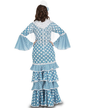 Disfraz de flamenca onubense para mujer