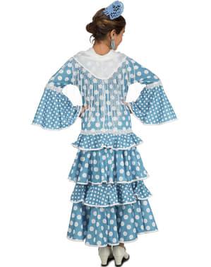 Південна Іспанія Фламенко плаття дівчини