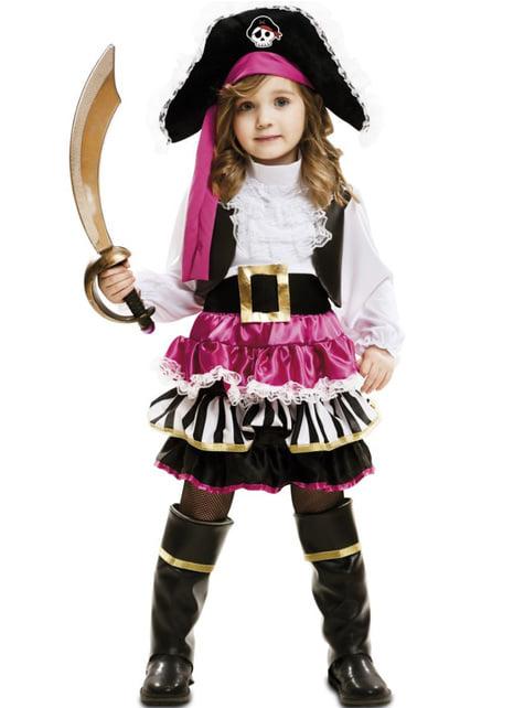 Girl's Little Pirate Costume