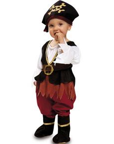 Disfraz de piratita para bebé