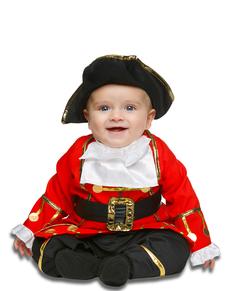 Disfraz de pequeño corsario para bebé