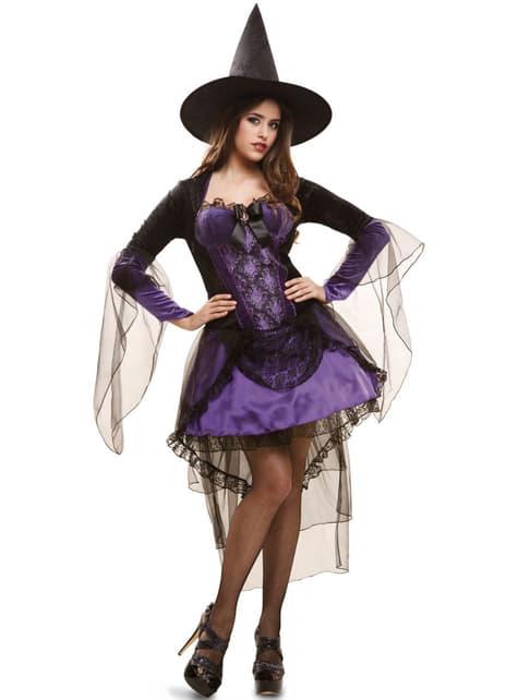 Disfraz de bruja glamourosa para mujer - mujer