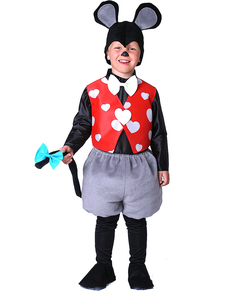 Little Mouse Boy Child Costume