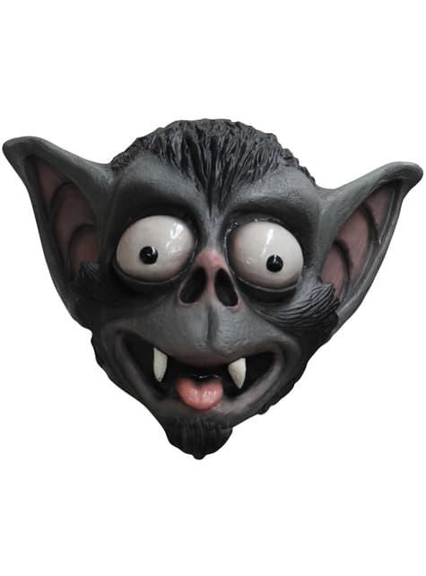Máscara de murciélago de ojos saltones para adulto