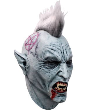 Maska wampir punk lateksowa dla dorosłych