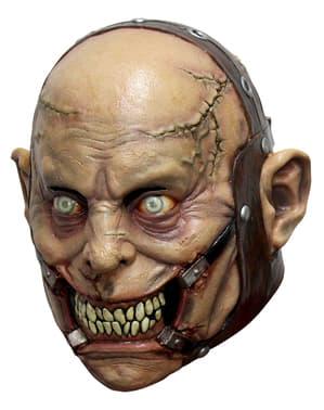 Dolle psychopaat masker van latex voor volwassenen