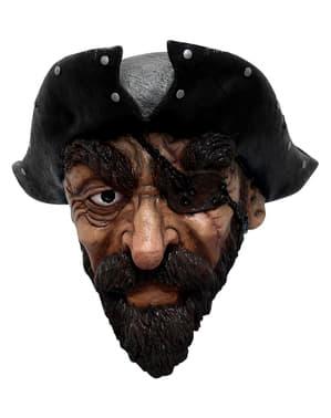 Yetişkinler Korsan Lateks Maske