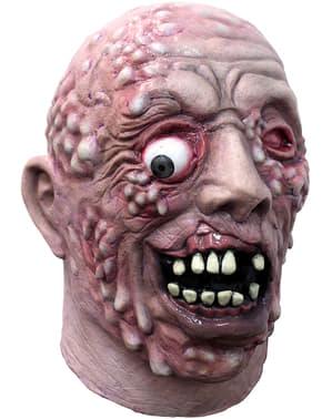 Gesmolten zombie masker van latex voor volwassenen