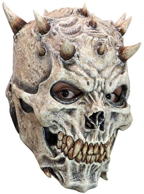 Ενήλικες Μάσκα λατέξ σκελετού με αιχμές