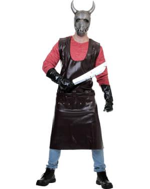 Hostel slagter kostume til voksne