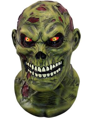 Teuflischer Zombie Maske für Erwachsene