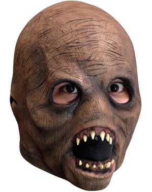 Máscara de entidad malévola de látex para niño