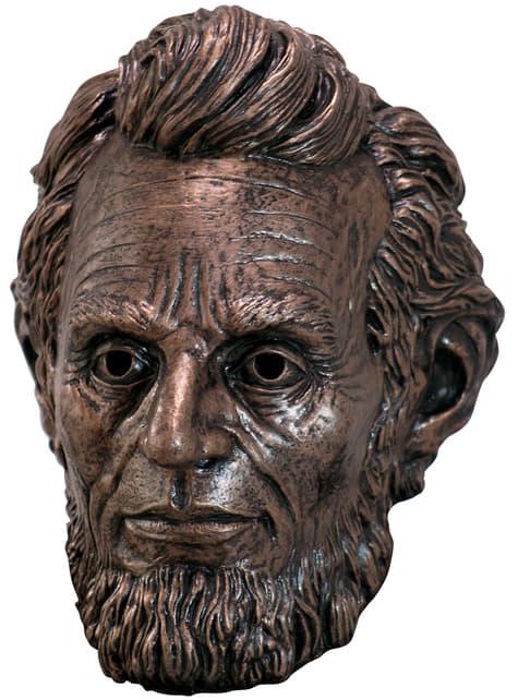 Máscara de Abraham Lincoln de látex para adulto