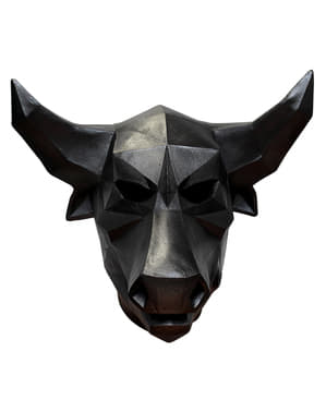Odrasli Low-Poly Bull Latex maska