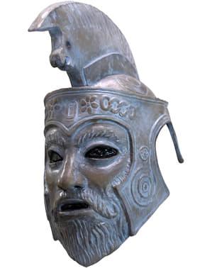 Máscara de Zeus Turbo Kid de látex para adulto