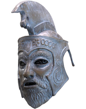 Maschera Zeus Turbo Kid in lattice per adulto