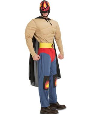 Disfraz de luchador mexicano para adulto