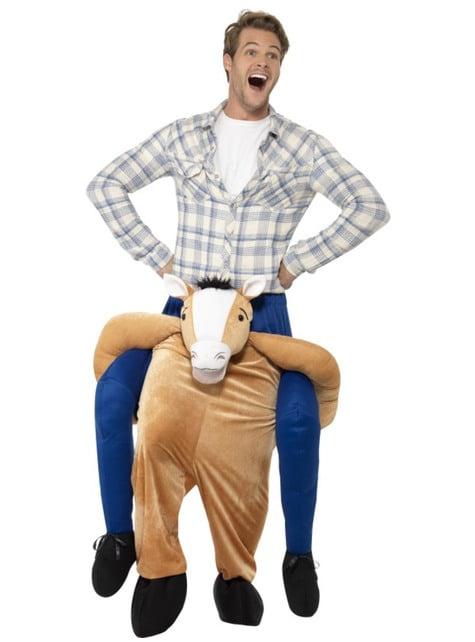 Disfraz de caballo Ride On para hombre
