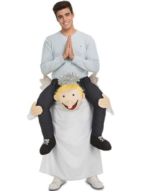 Disfraz a hombros de ángel para adulto