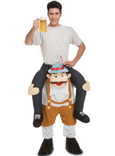 Déguisement bavarois emmène moi a la fête de la bière ride ron adulte
