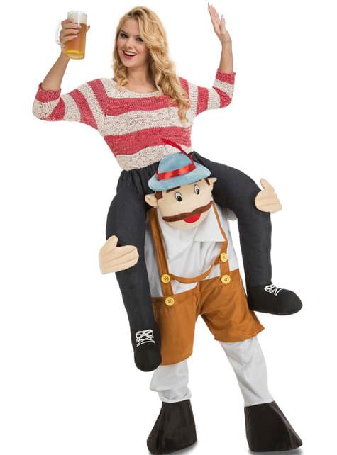 Strój Tyrolczyku zanieś mnie na Oktoberfest Ride On dla dorosłych